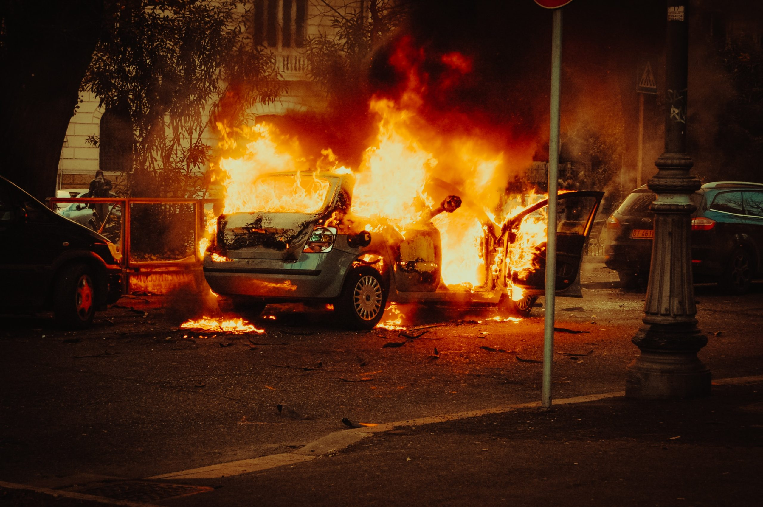 Psalm 13 and Rioting in the Streets